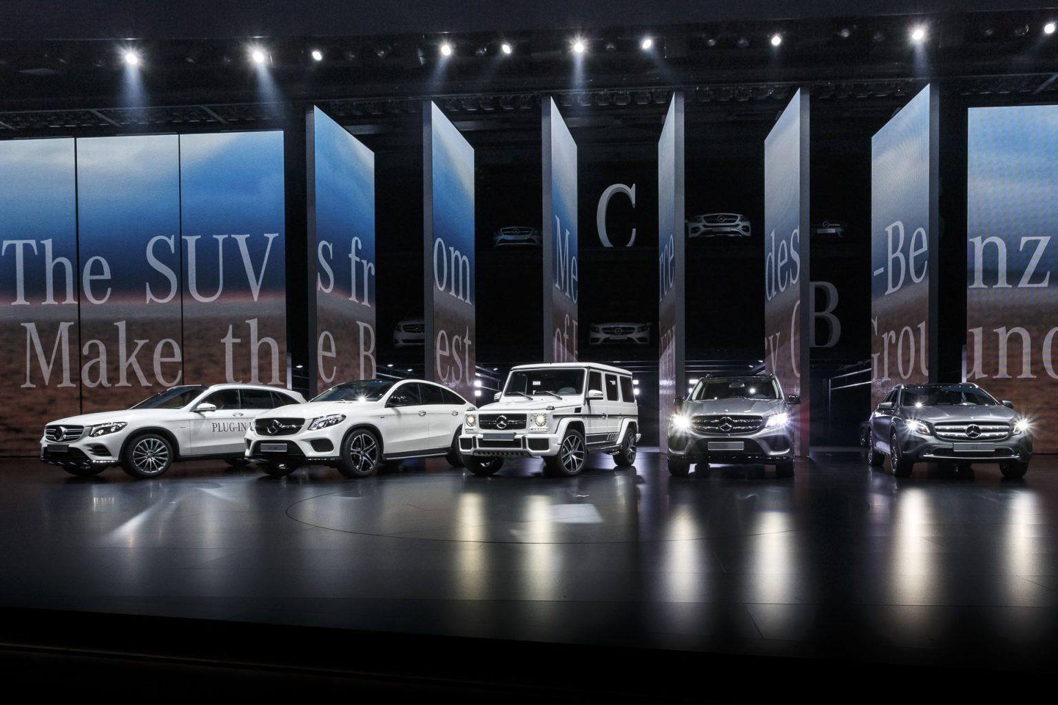 Mercedes Benz Cars Auf Der Iaa 2015 Mercedes Benz Cars At The Iaa 2015